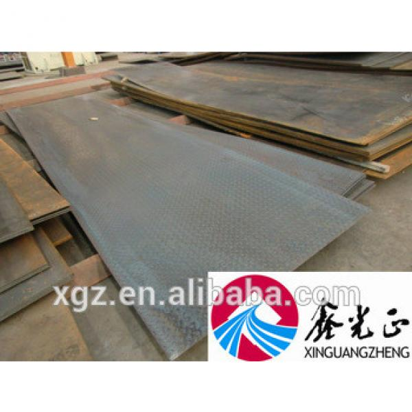 Steel structure construction warehouse workshop and kinds of materials steel plates steel beam sandwich panel #1 image