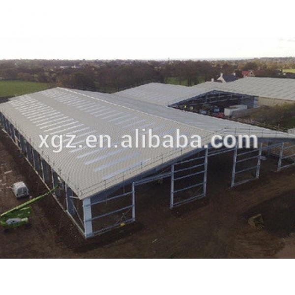 light portal steel structure prefabricated warehouse #1 image
