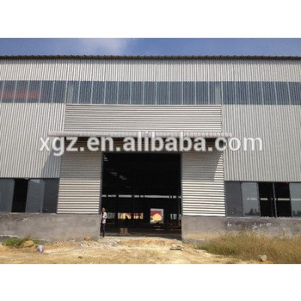 Weld H beam lightweight steel warehouse #1 image