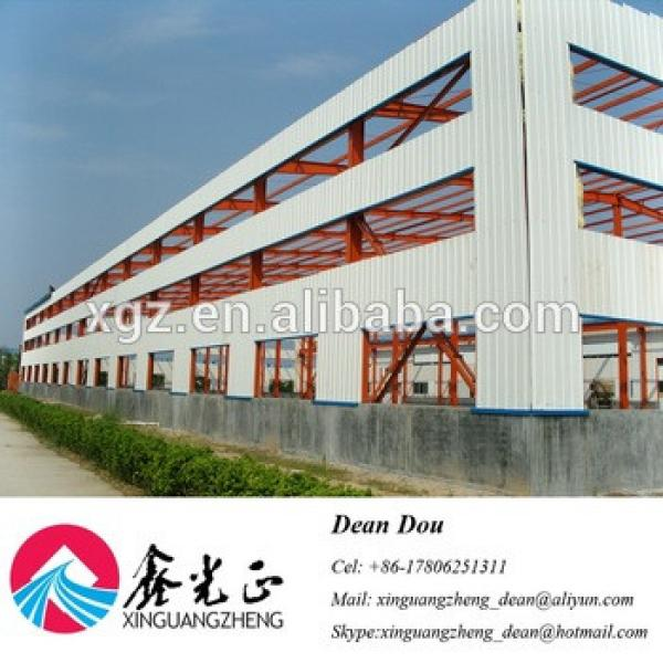 Low-price Professional Steel Structure Warehouse with Bridge Crane Design Supplier China #1 image