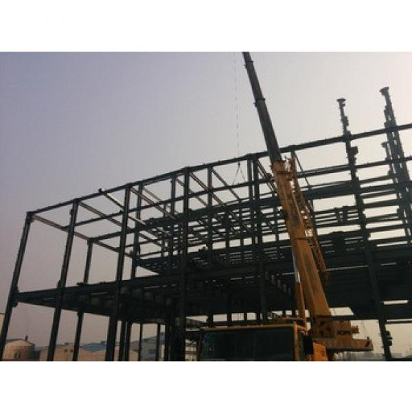 steel structure construction and materials hot rolled steel beam and sandwich panel #1 image
