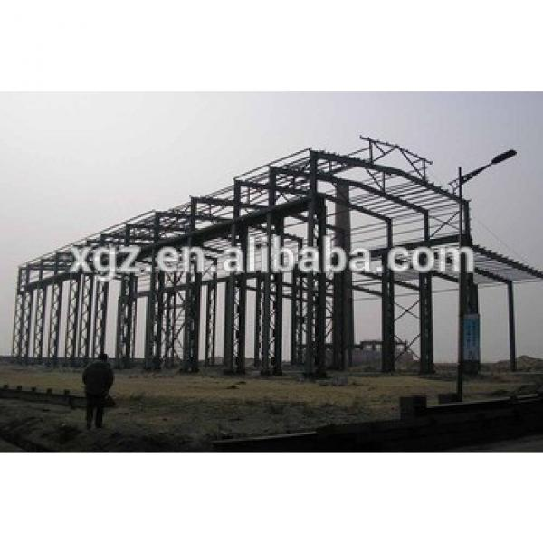 Prefabricated Light Steel Thin-Walled Structures For Warehouse #1 image
