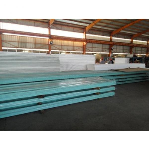 EPS/rock wool sandwich panel used for steel structure #1 image