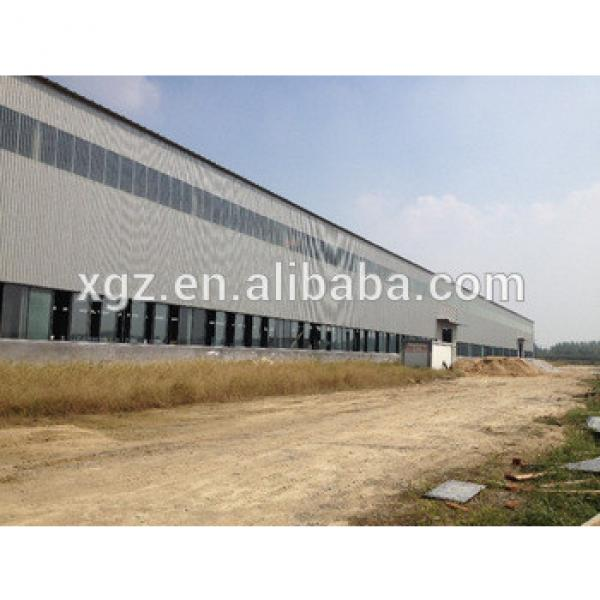 Pre-engineered china portal frame steel structure warehouse #1 image