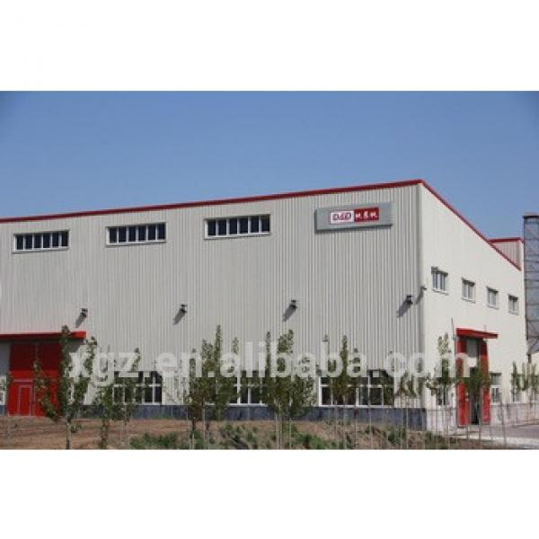 prefabricated steel building steel structure #1 image