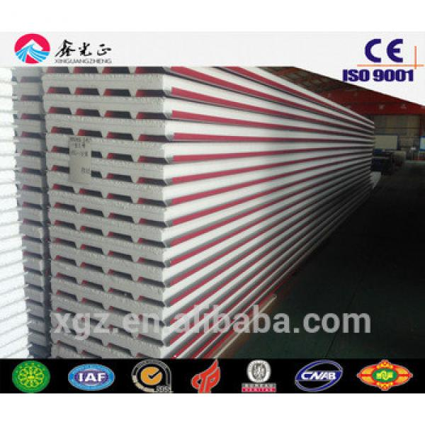 steel structure buildings materials roof wall sandwich panel #1 image