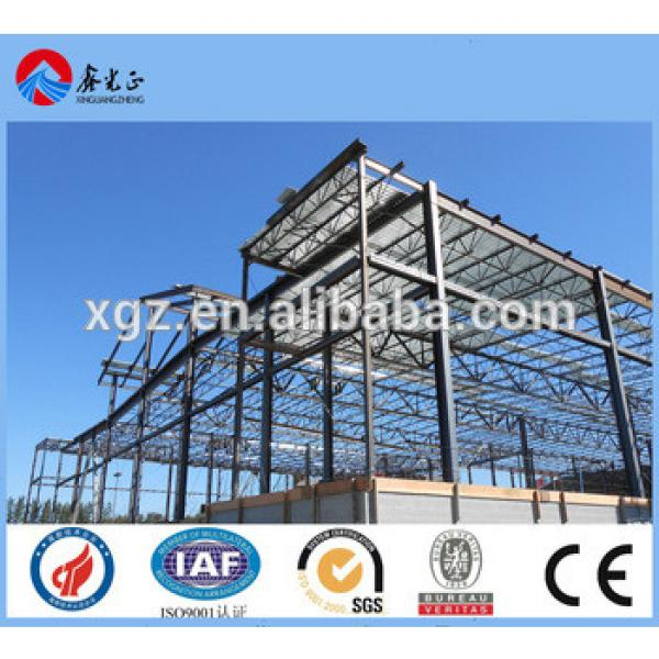 light weight steel structure frame, Hot rooled I section steel frame #1 image