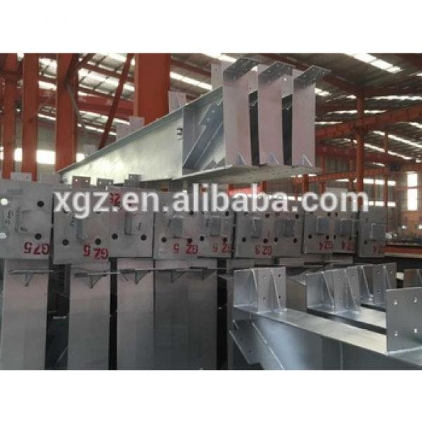 Good Quality Galvanized Steel Structure Column and Beam for warehouse and workshop #1 image