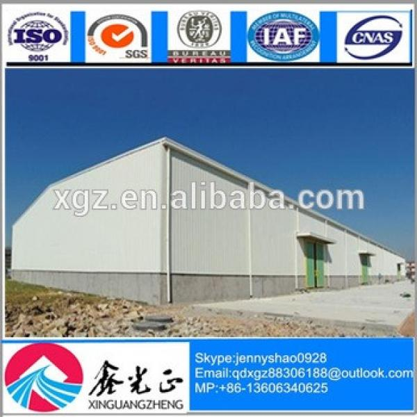 High Quality Cheap steel construction for Steel Structure Warehoue/Workshop/Hangar #1 image