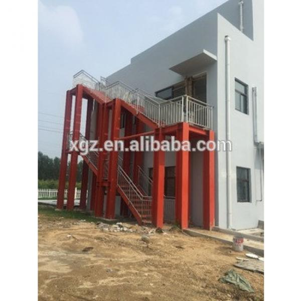 Hot sales Galvanized steel stair for steel structure building #1 image