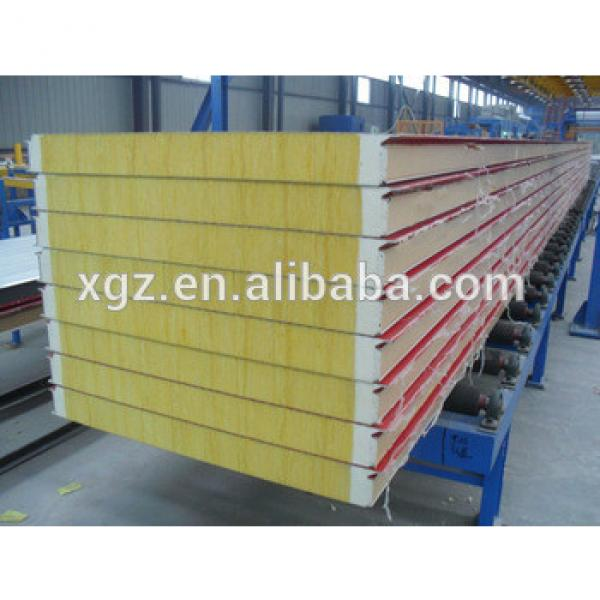 Glasswool sandwich panel for prefabricated house #1 image