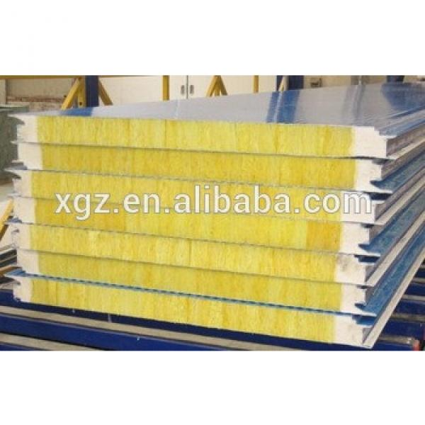 2017 hot sale high quality glasswool sandwich panel #1 image