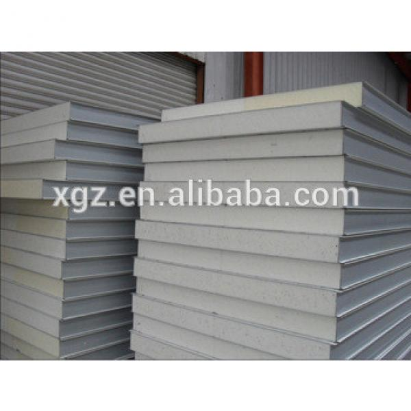High quality steel PU sandwich panel for roof #1 image