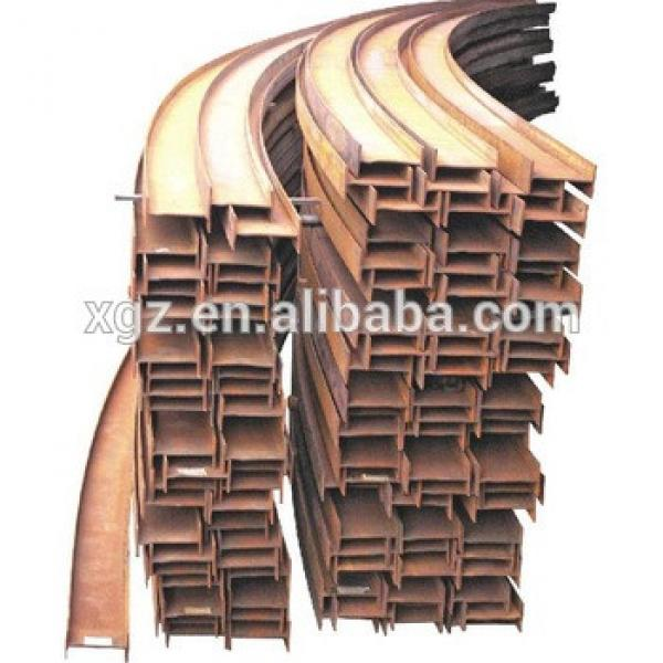 Q235 hot rolled structural steel H beam #1 image