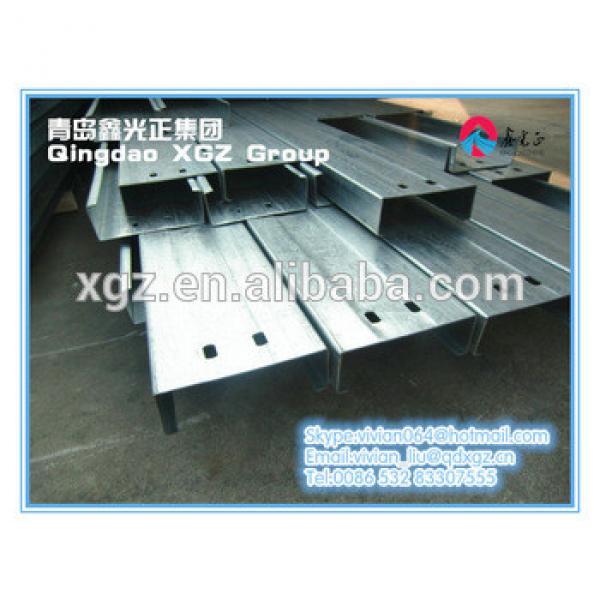 XGZ galvanized square steel pipe constuction materials #1 image