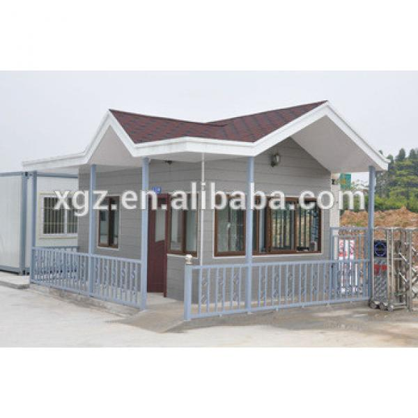 XGZ prefab house frame house steel structure materials #1 image