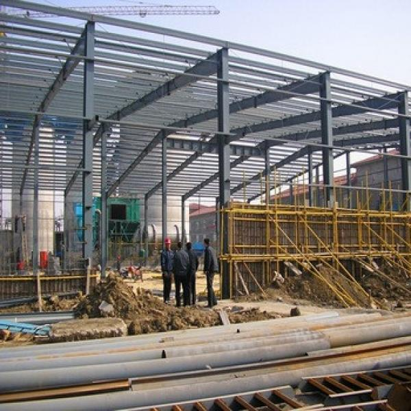 Light Steel Prefabricated Galvanized Sheet Metal Workshop #1 image