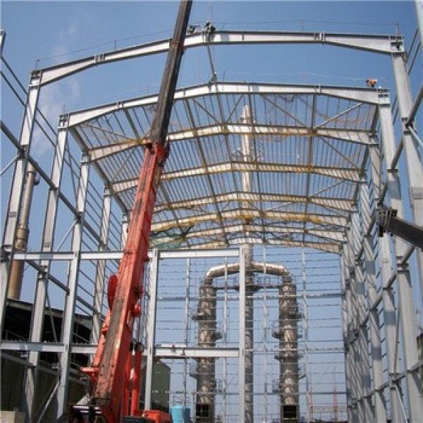China Prefab Galvanized Steel Structure Shopping Mall #1 image