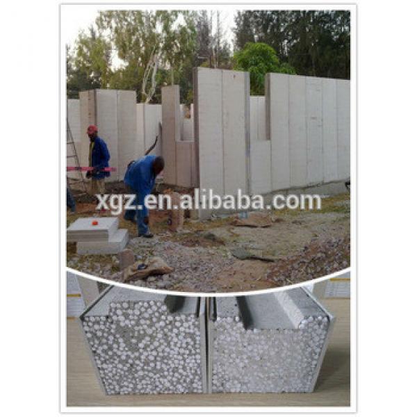 XGZ concrete structure building eps sandwich wall panel #1 image