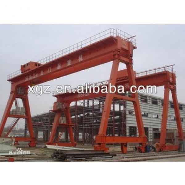 Double girder workshop bridge crane #1 image