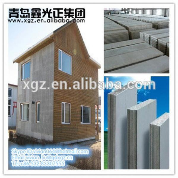XGZ Good price! Green EPS sandwich cement panel for wall #1 image