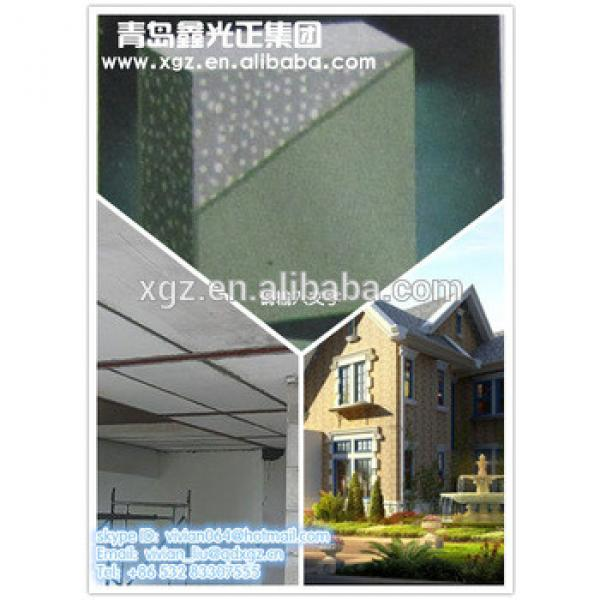 XGZ EPS cement sandwich panel for ECO prefabricated house #1 image