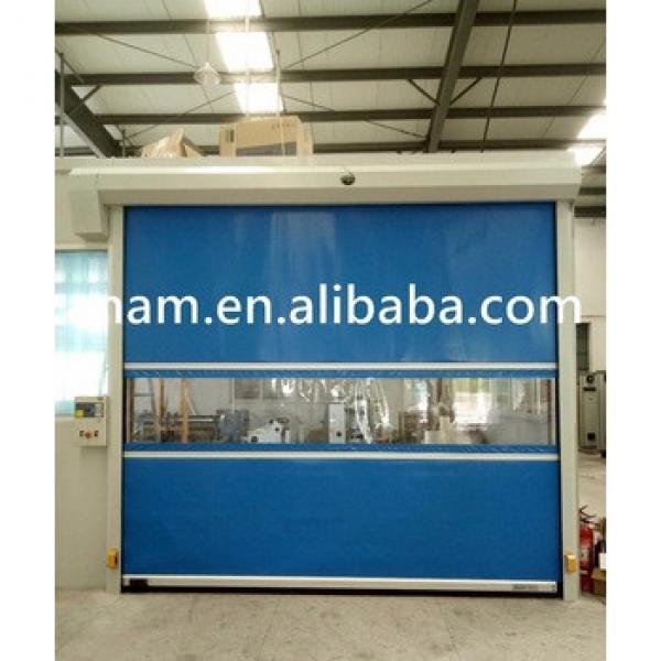 Industrial Interior Fabric High Speed Door with Rolling up Gate with Ce Certification #1 image