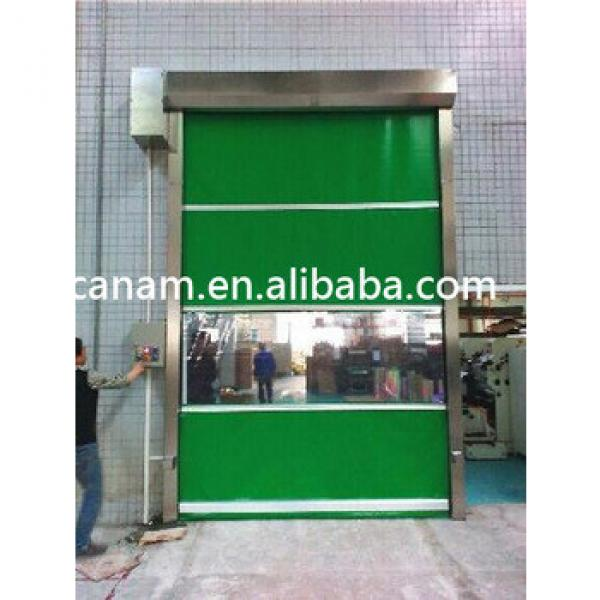 Automatic PVC High Speed Rolling Shutter Industrial Door #1 image