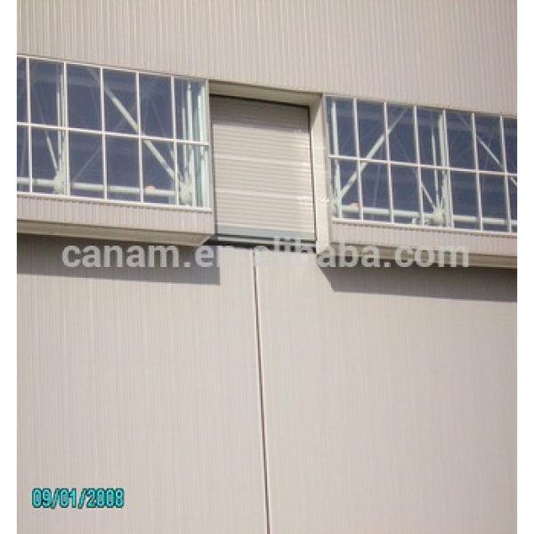 Large span heavy steel structure sliding aircraft hangar door #1 image