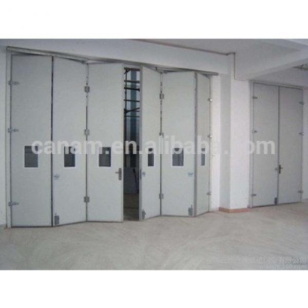 aluminum interior temporary folding doors #1 image