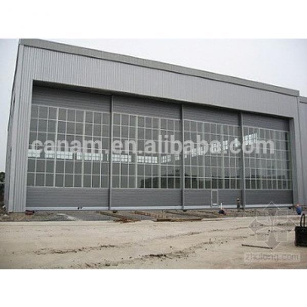 Automatic Interior Sliding Aircraft Hangar Door #1 image