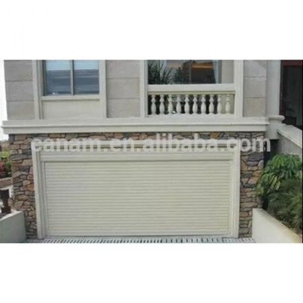 Residential electric aluminum roller shutter garage door #1 image