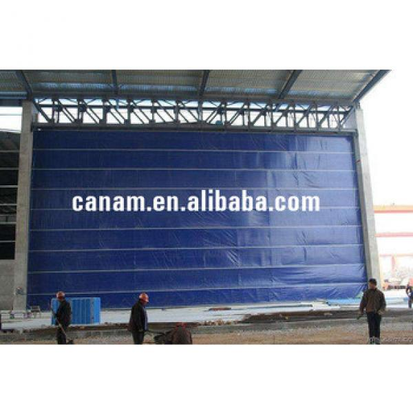 PVC Fabric Lifting Folding up Mega Shipyard Door #1 image