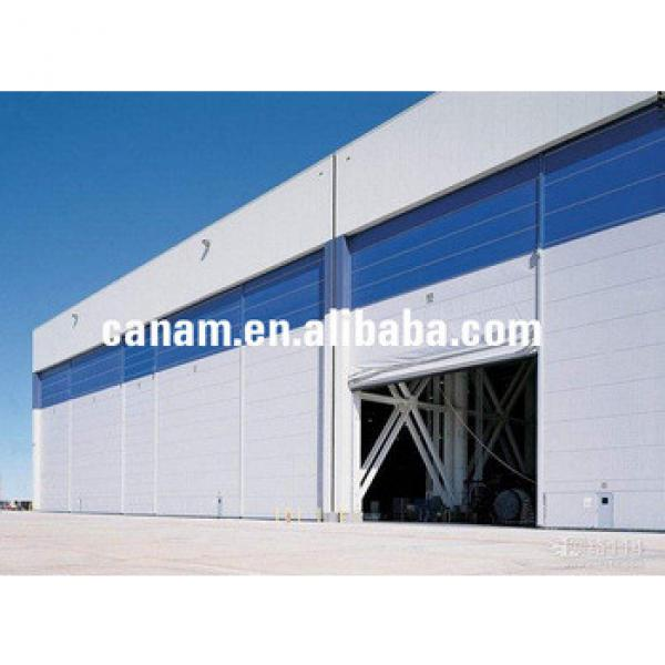 Large Pile Up Stacking Flexible Aircraft Hangar Door for Airport #1 image