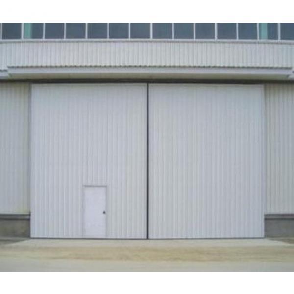 Automatic used sliding industrial doors/hangar door #1 image