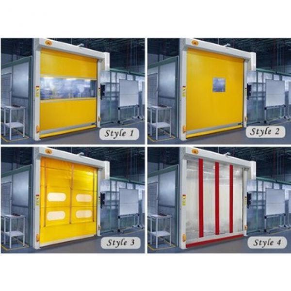 Fast speed interior roll shutter pvc plastic interior door auto restoration #1 image