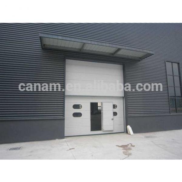 Automatic industrial vertical lifting rolling shutter garage door #1 image