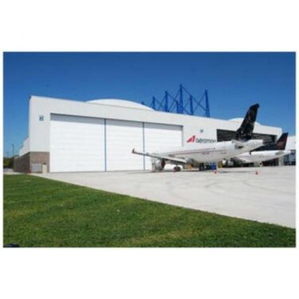 China super large flexible accumulation hangar door/ shutter door #1 image
