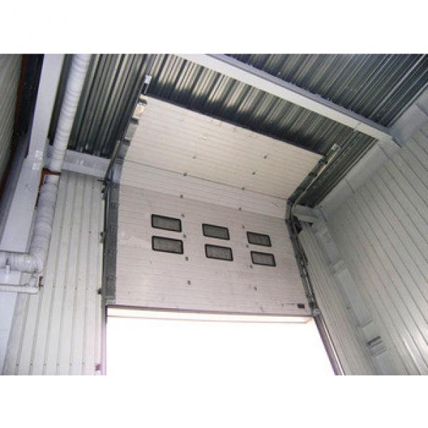 industrial insulated garage door with good quality #1 image