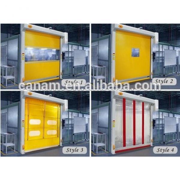 High speed roll up door high speed pvc door industrial roll-up door #1 image