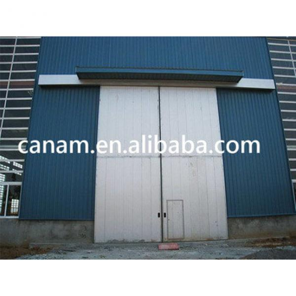 Remote control industrial sliding sectional doors #1 image