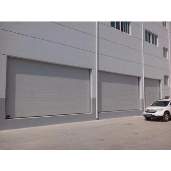 Hot sale industrial sliding sectional door with transparent window #1 image