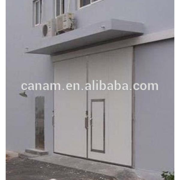 China Supplier Industrial Electric Sliding Folding Door #1 image