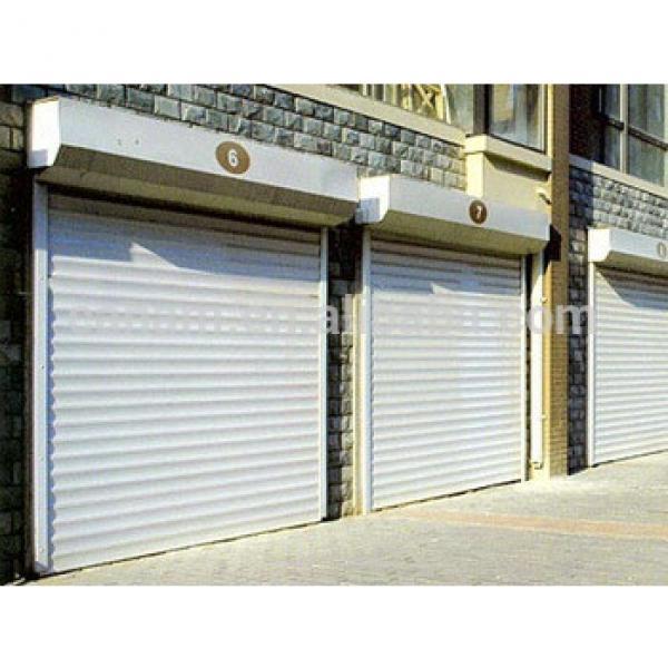 Commercial galvanized steel vertical roller shutter doors #1 image