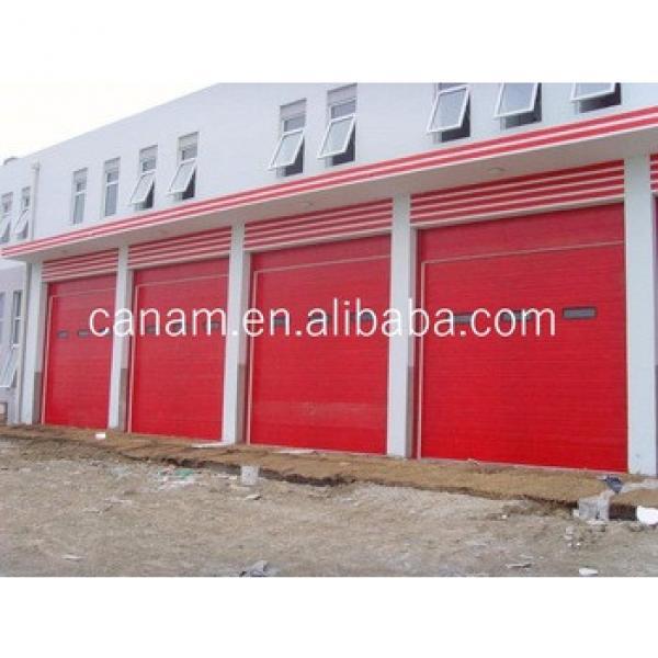 Sectional Industrial Door --- High Lifting garage door #1 image