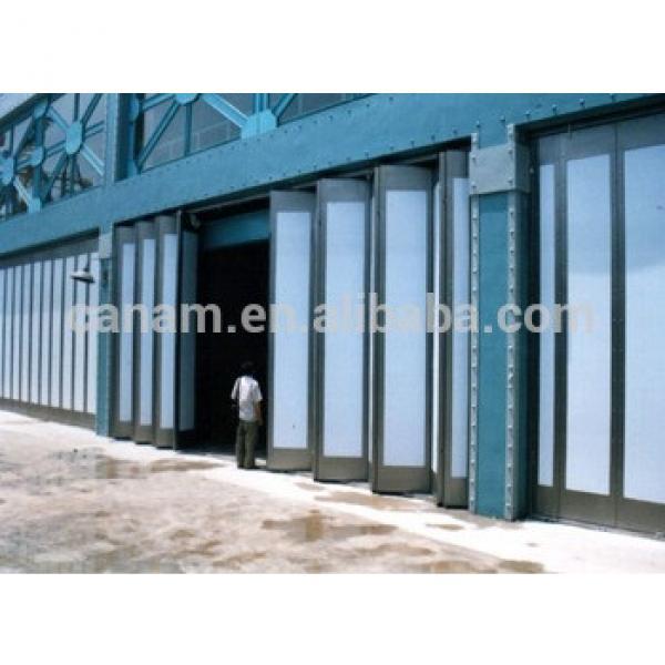 Cheap commercial building steel accordion door #1 image