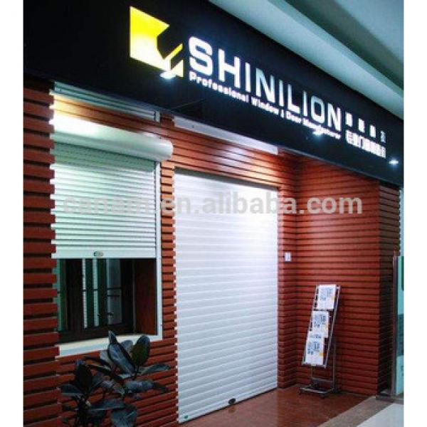 Commercial Stainless Steel Security Roller Shutter Doors #1 image