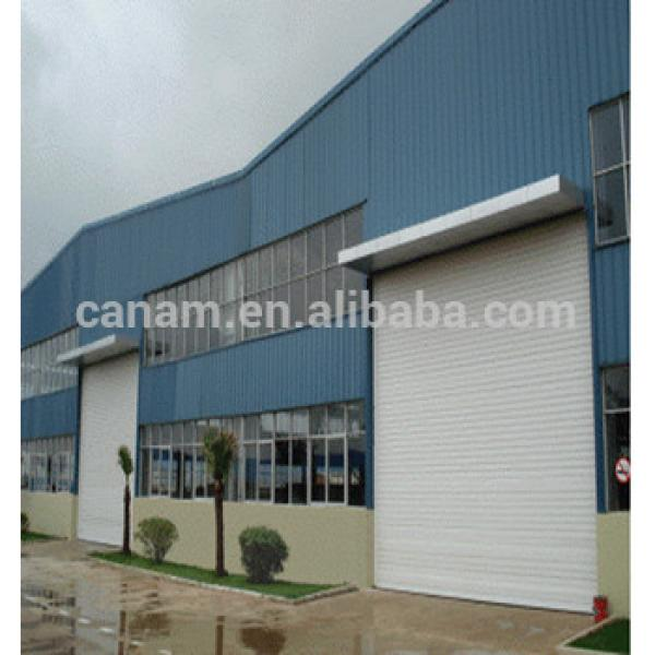 Colorful and Strong Big Anti-Wind Rolling Shutter Door #1 image