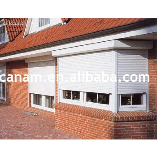 Aluminum Electrical Roller Shutter Window with Hot Sale #1 image