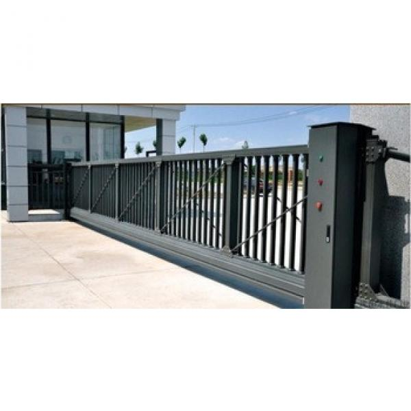 cheap price suspended gate for industry park #1 image